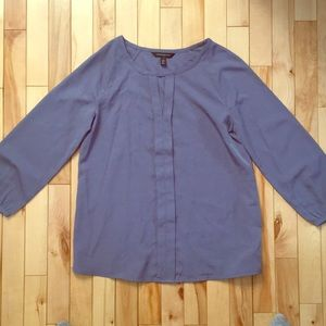 Airy grey-purple blouse